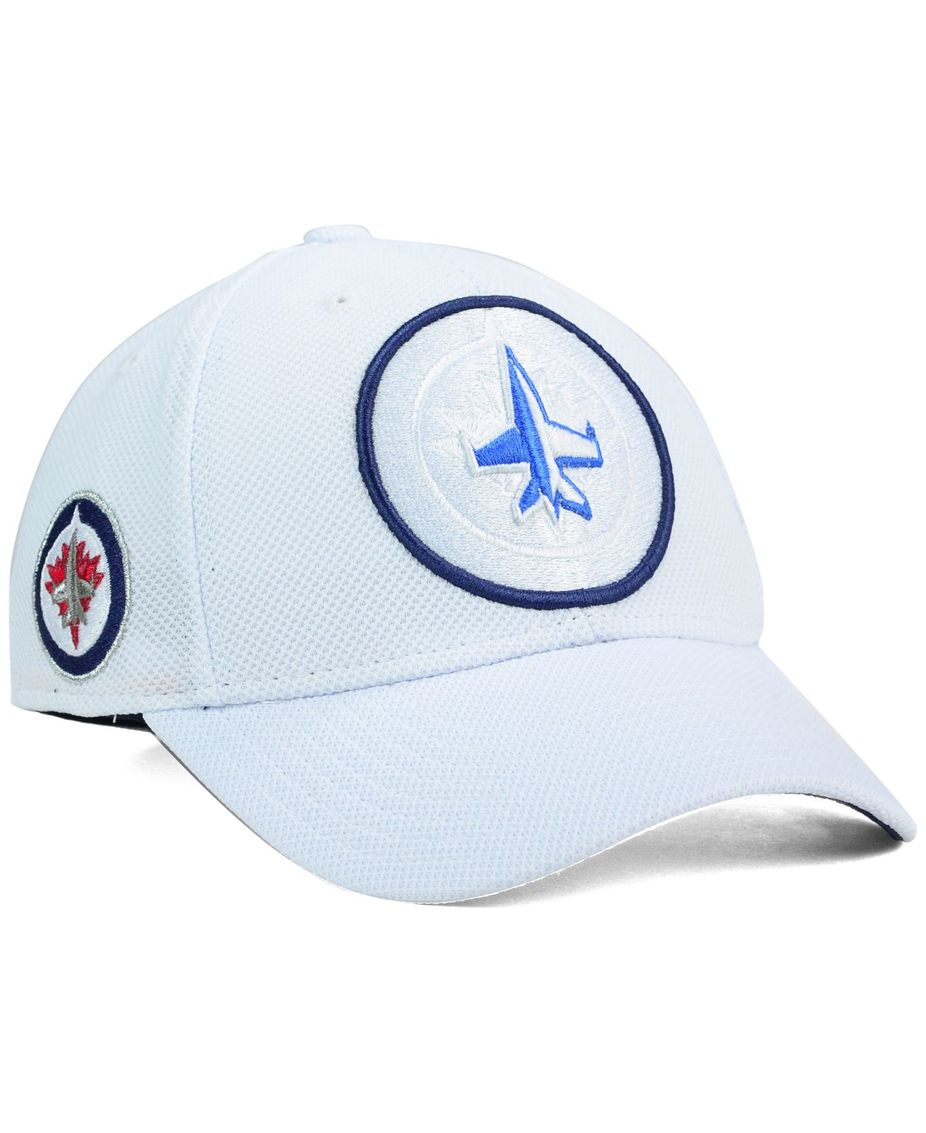 9adeb2075 Lyst - Reebok Winnipeg Jets 2nd Season Flex Cap in White for Men
