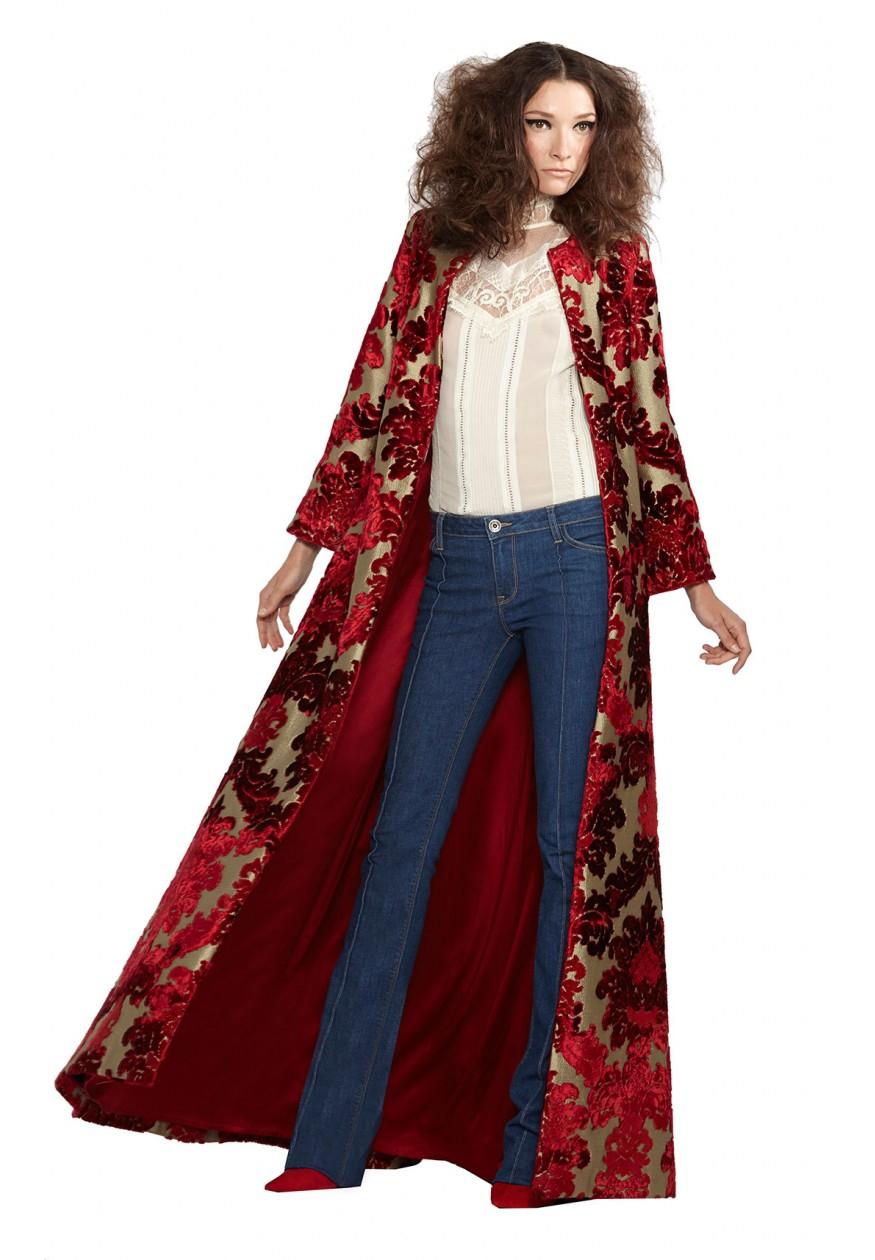 Lyst Alice Olivia Queens Floor Length Coat
