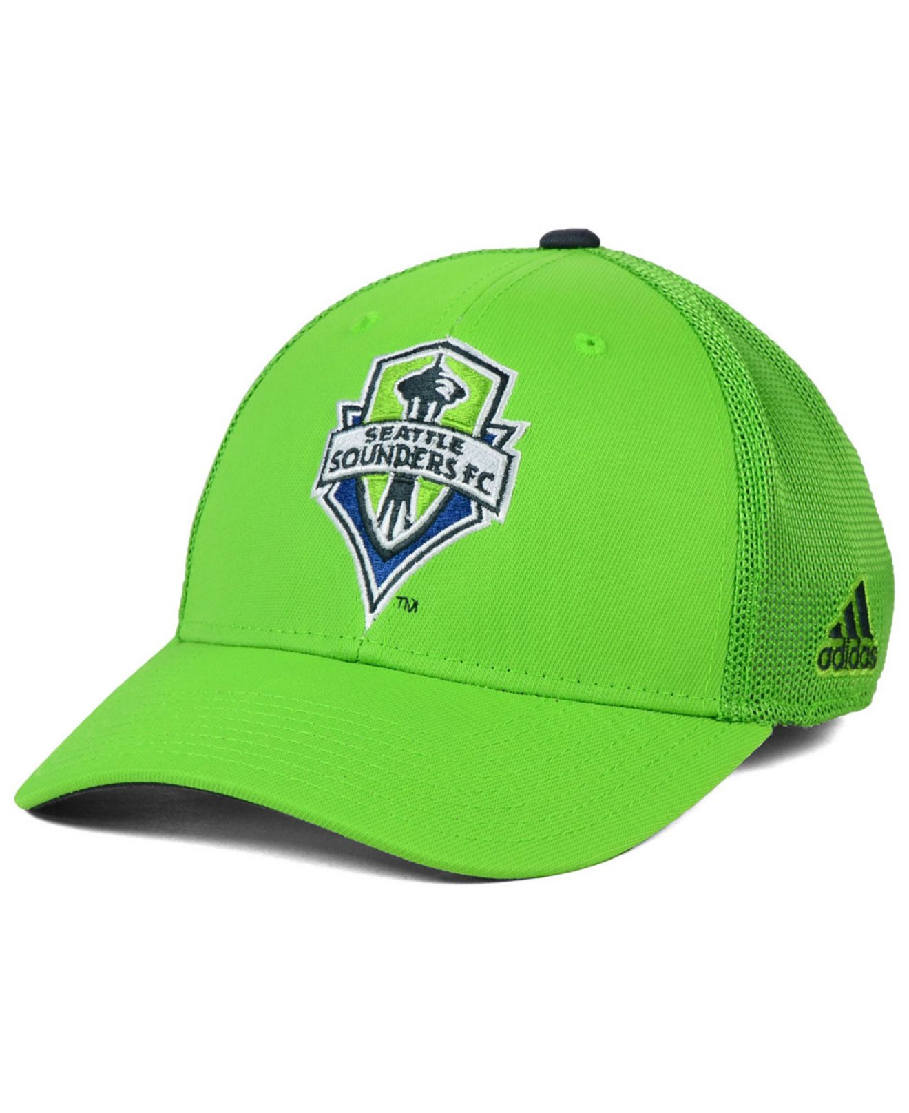 dcfda0ccbf6 Lyst - Adidas Originals Seattle Sounders Stretch-fit Cap in Green ...