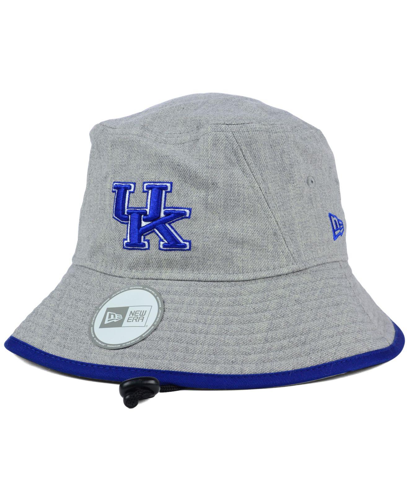 outlet store bac20 42cc2 ... italy lyst ktz kentucky wildcats tip bucket hat in gray b06d9 8e2b6