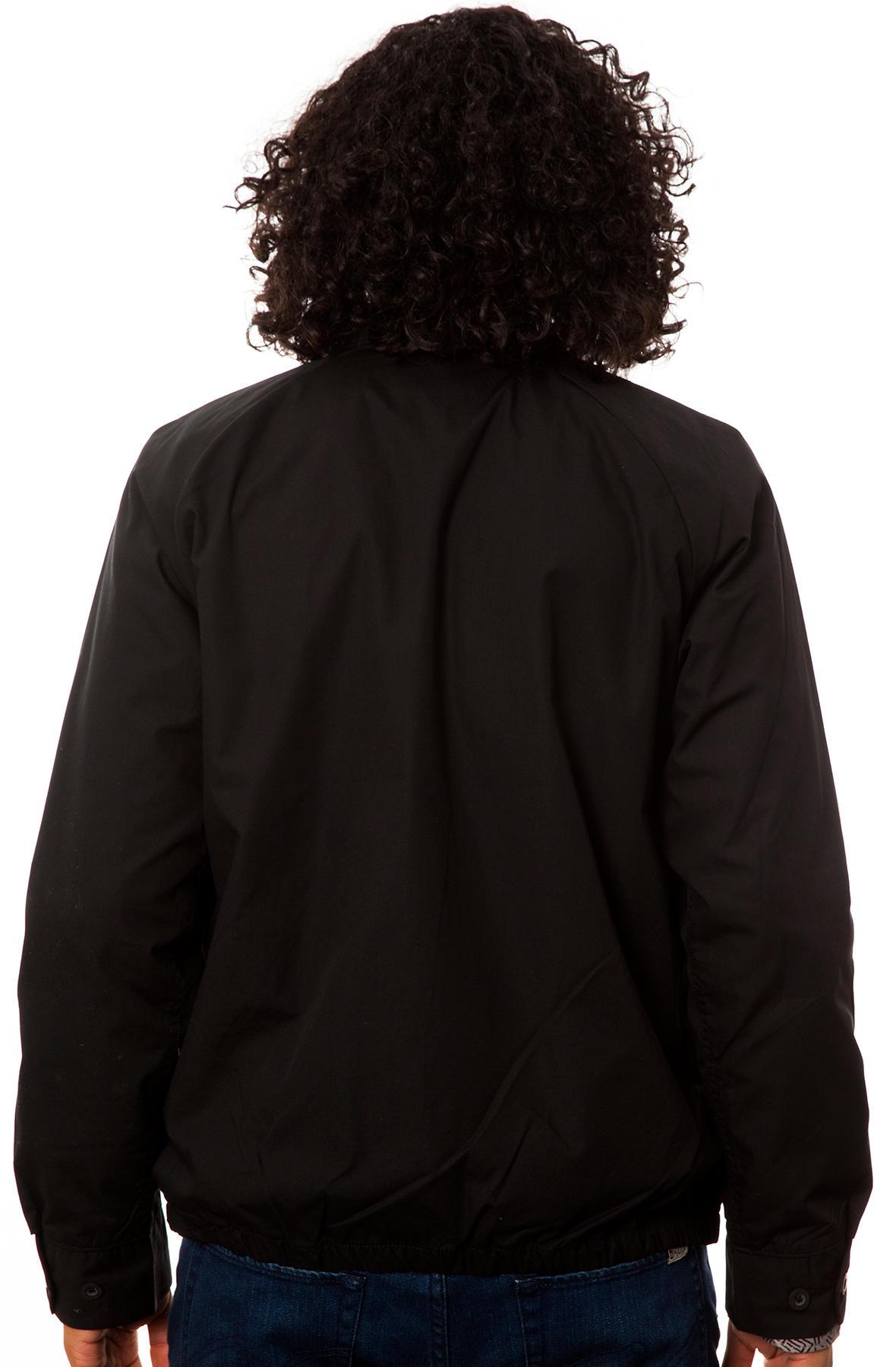 Lyst Vans The Black Label Skateboards Jacket In Black