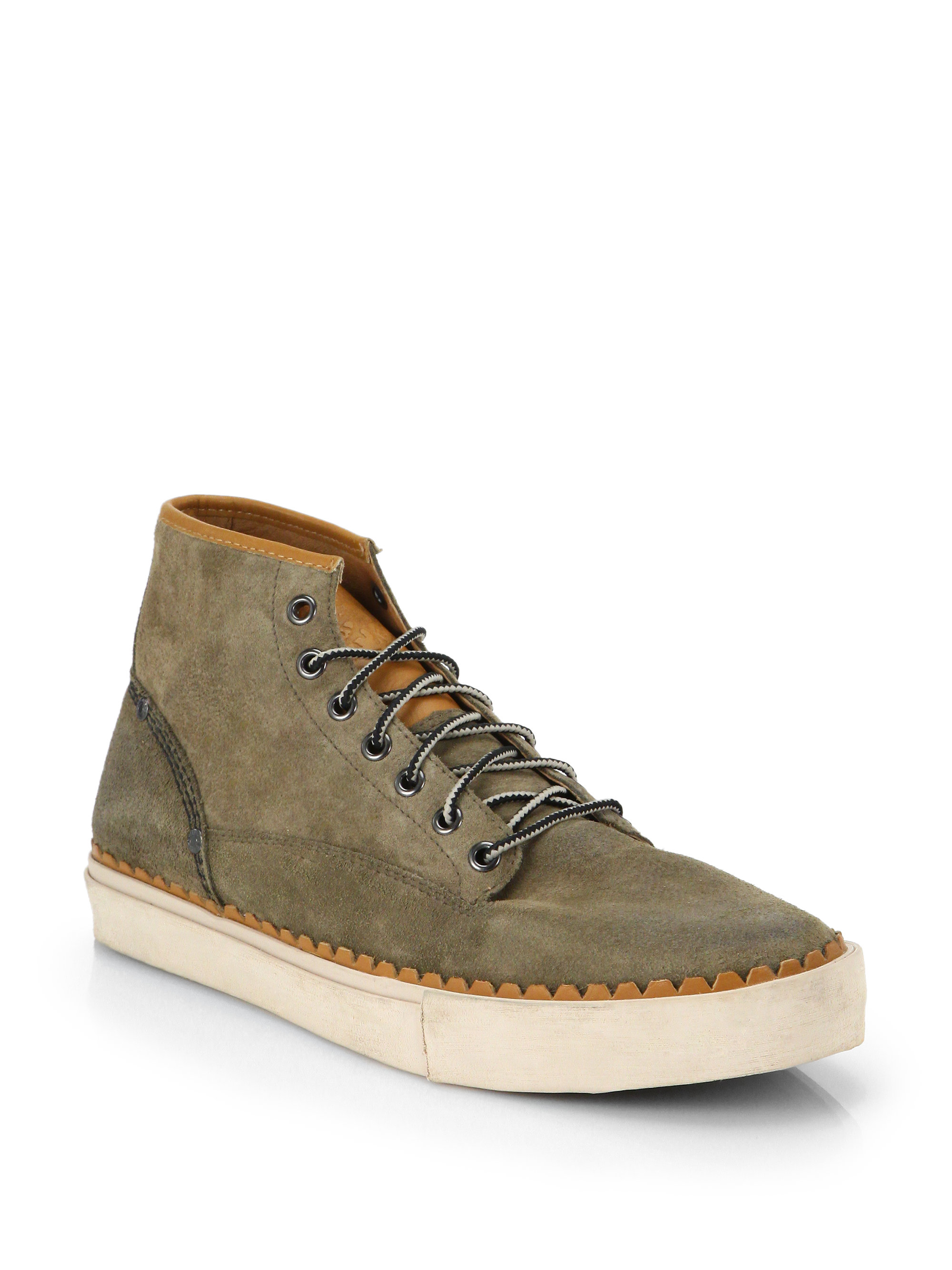 Diesel The Pager Watchu Chukka Boots In Green For Men Lyst