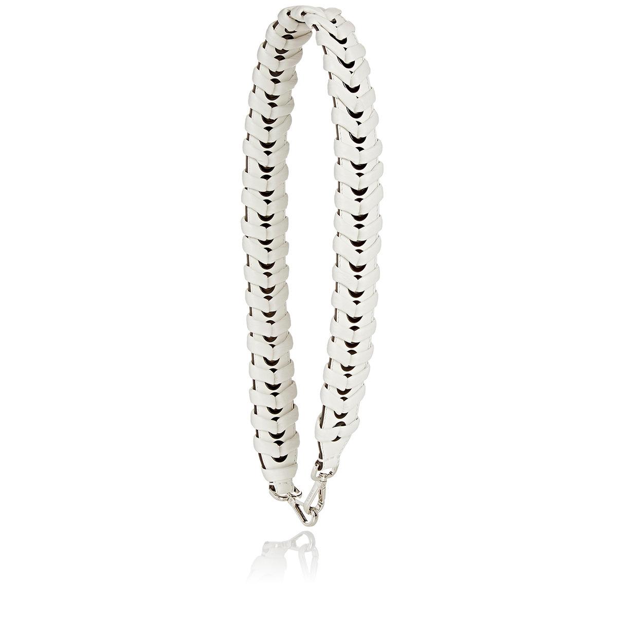 cdc412c4e54d Lyst - Fendi Women s strap You Shoulder Strap in White