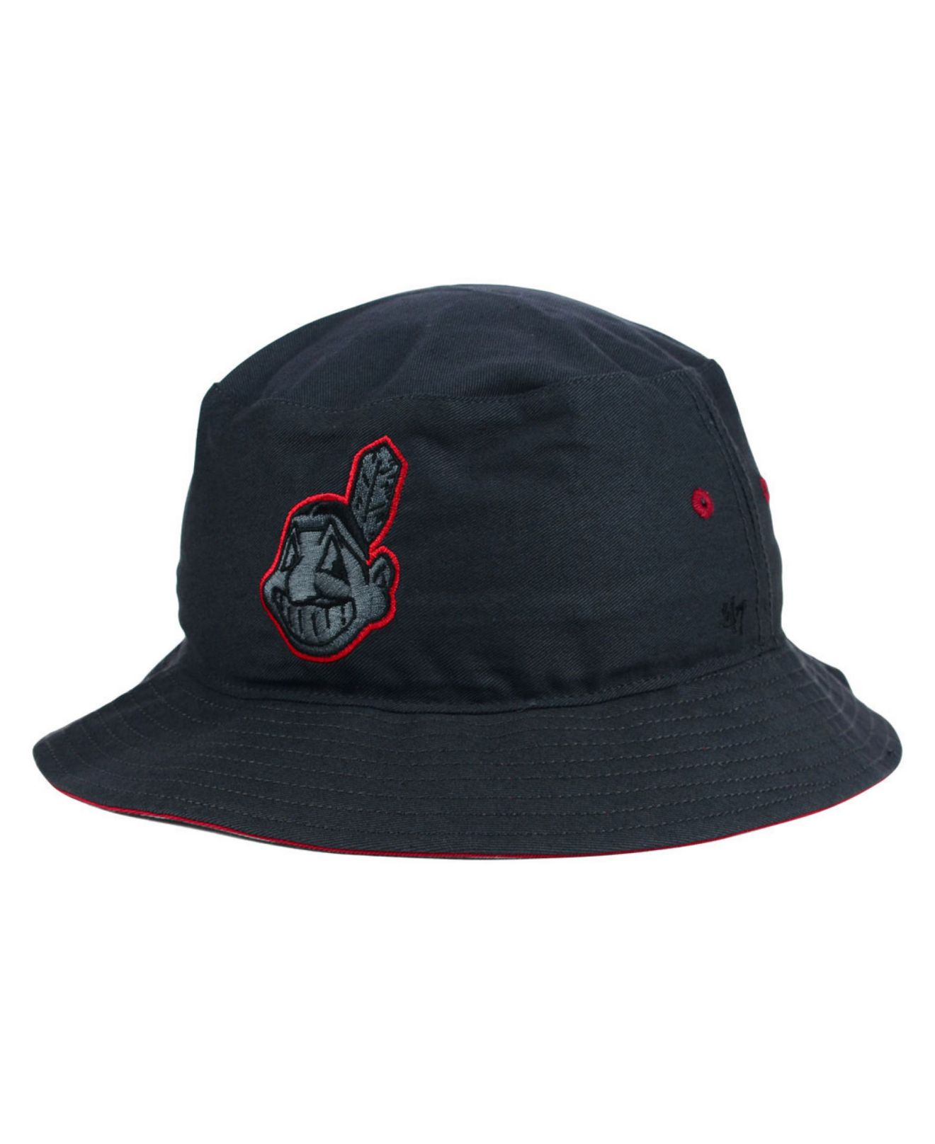 Lyst - 47 Brand Cleveland Indians Turbo Bucket Hat in Gray for Men 26a4daa9f0c