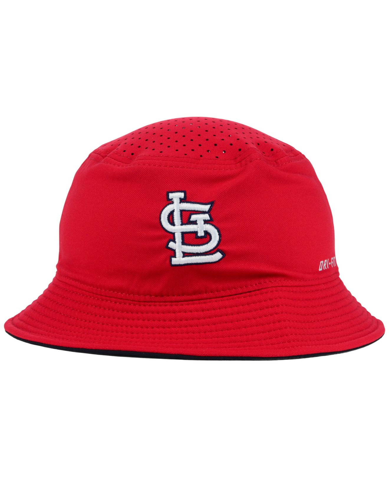 Lyst - Nike St. Louis Cardinals Vapor Dri-Fit Bucket Hat in Red for Men df9e633f4491