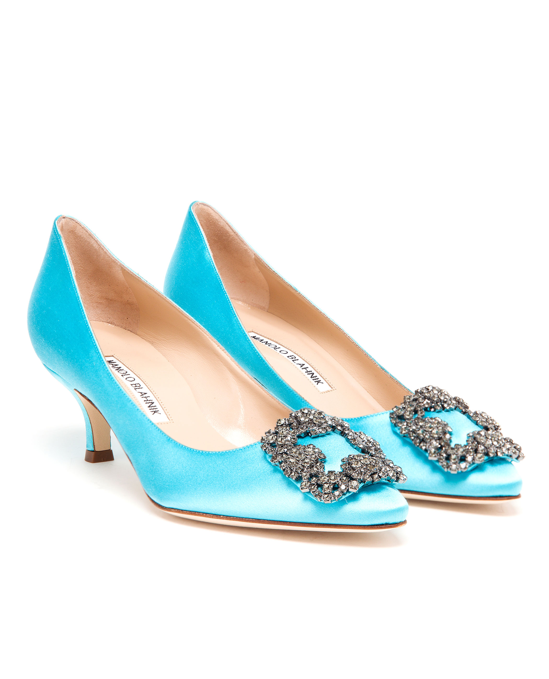 d18d3010357 Gallery. Previously sold at  Browns · Women s Manolo Blahnik Hangisi ...