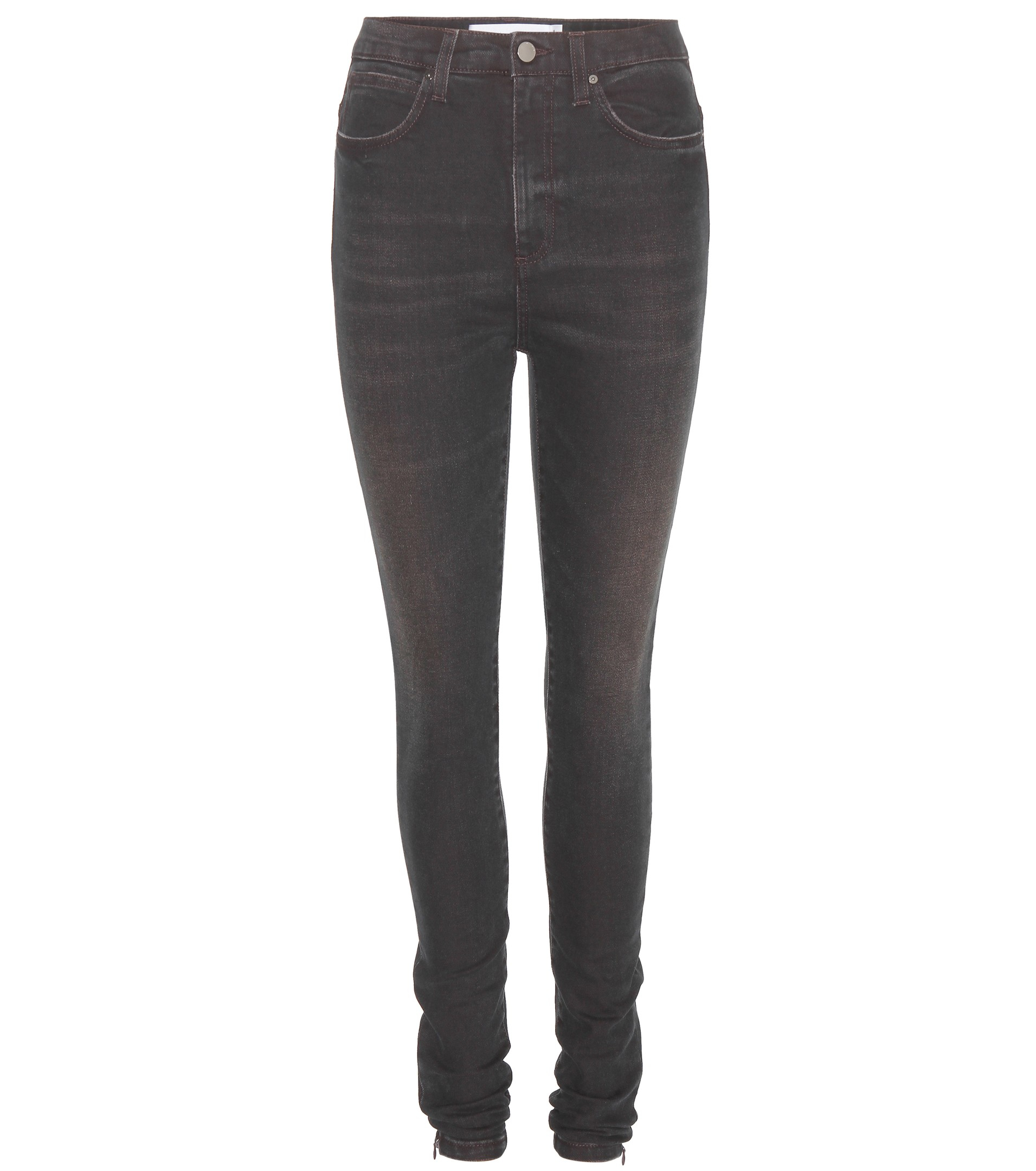 Dark Brown Jeans For Women - Xtellar Jeans