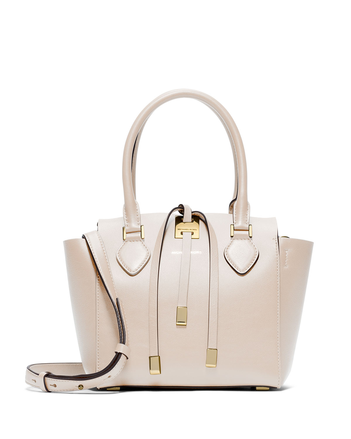 f4e3a5981aed ... aliexpress lyst michael kors miranda extra small tote bag in white  f603e f4f1f