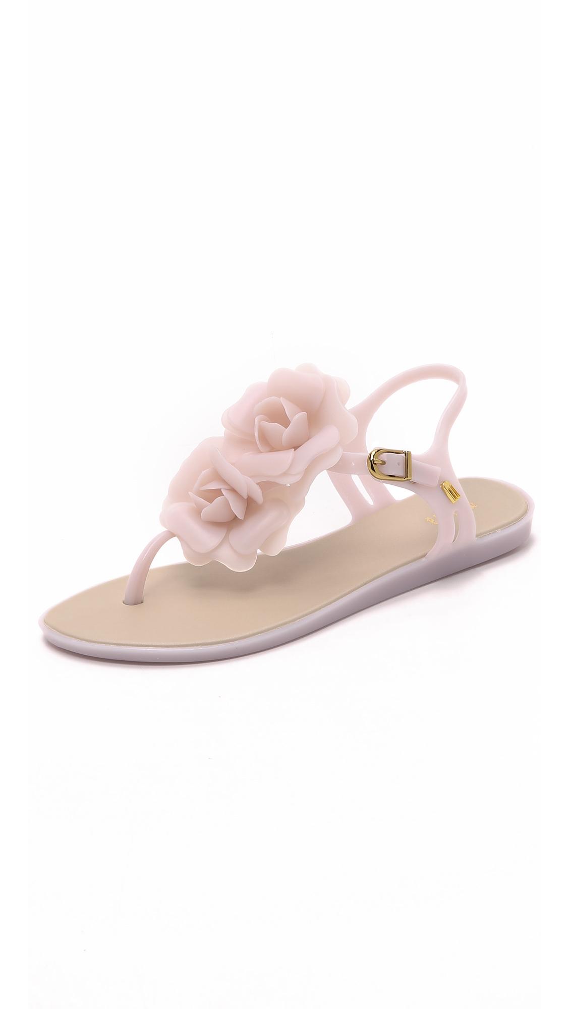61c04de2832 Lyst - Melissa Solar Garden Sandals in Pink