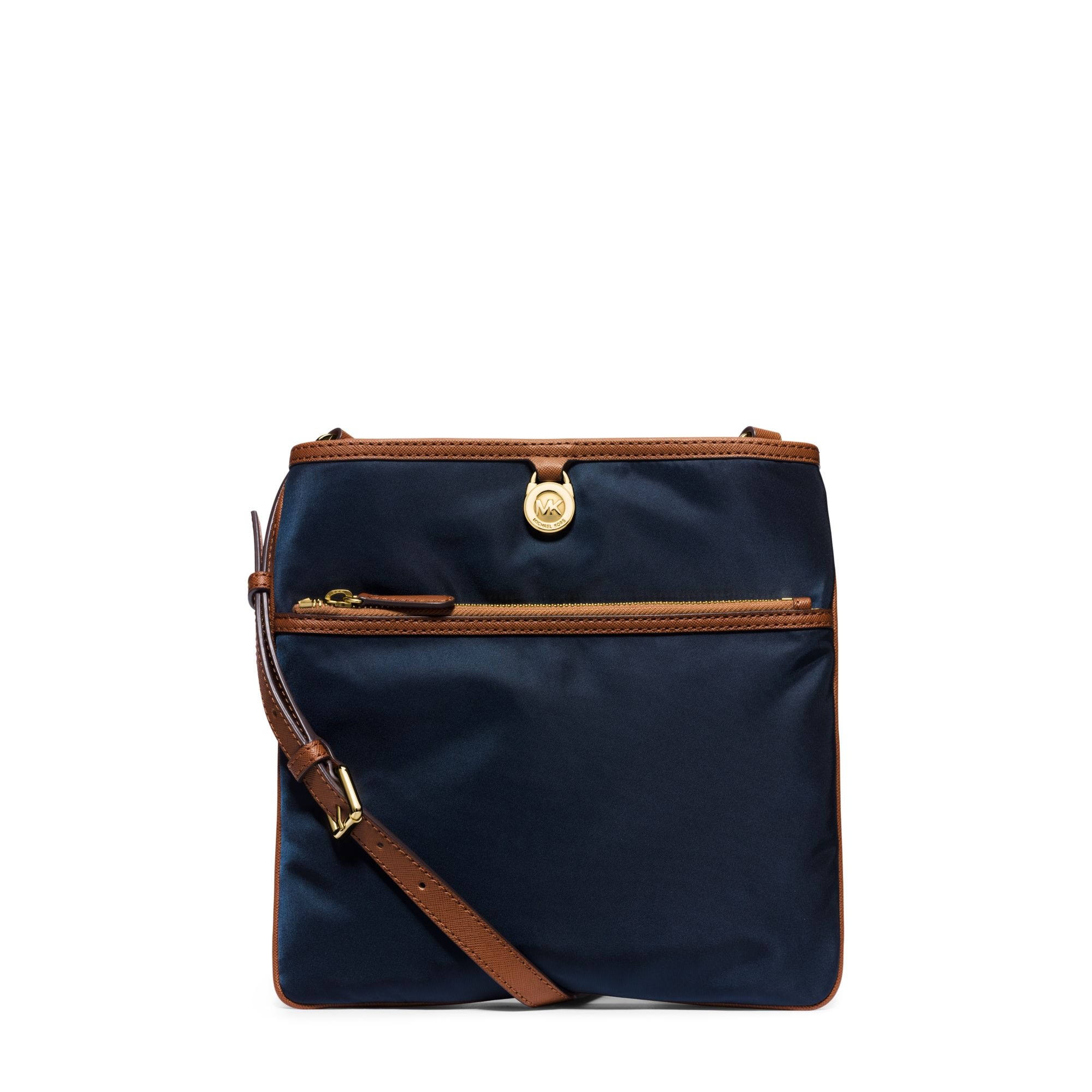 cbfe659b5a86f8 Michael Kors Kempton Large Nylon Crossbody in Blue - Lyst