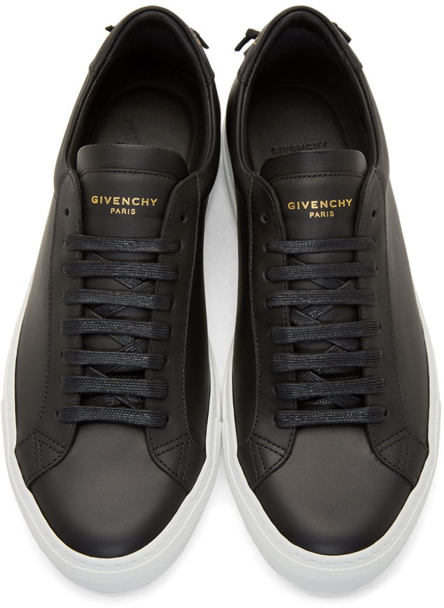 Lyst Givenchy Black Codification Low Top Sneakers In