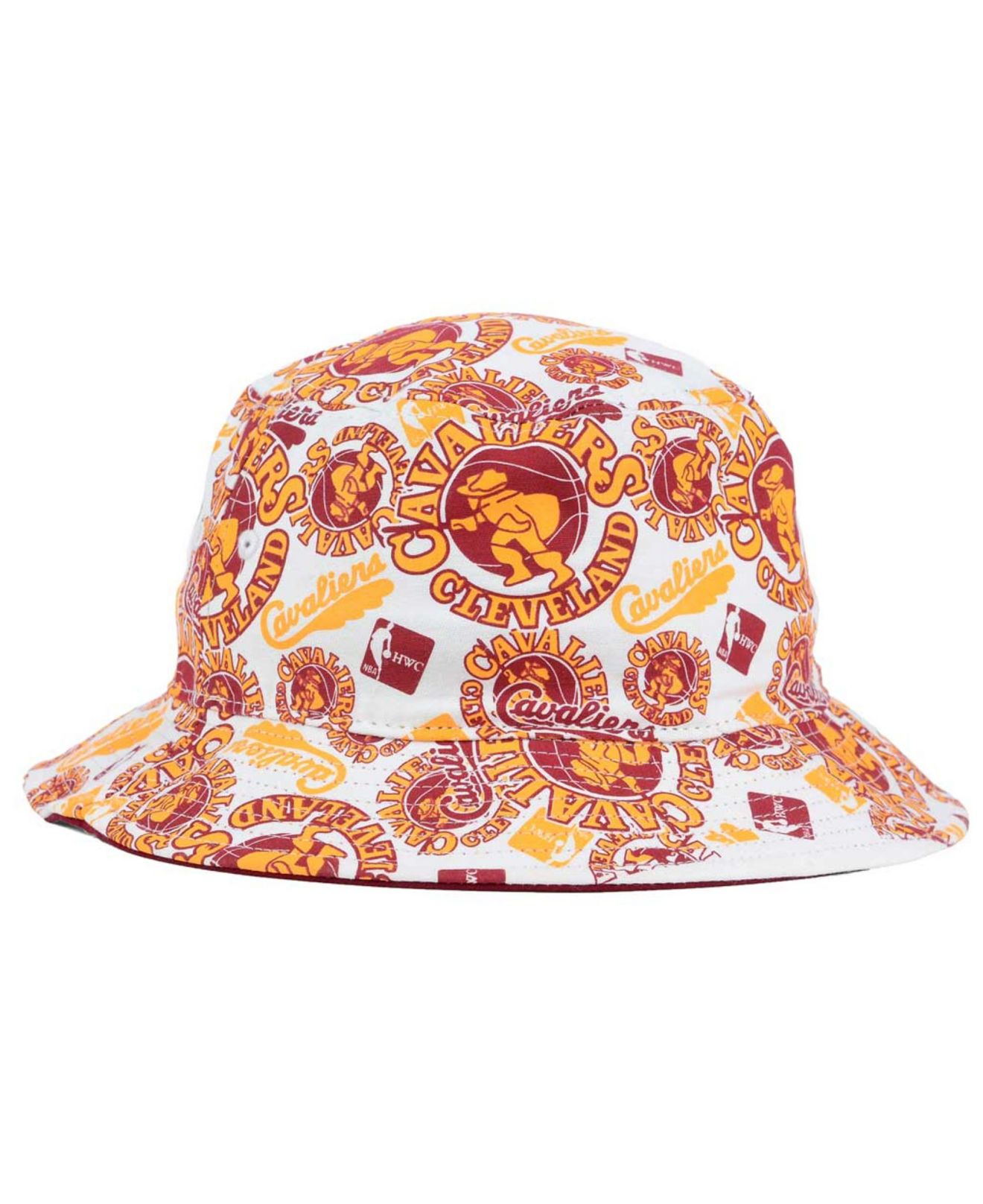 20c2976e622cd ... closeout lyst 47 brand cleveland cavaliers bravado bucket hat in purple  for men a4883 b7912