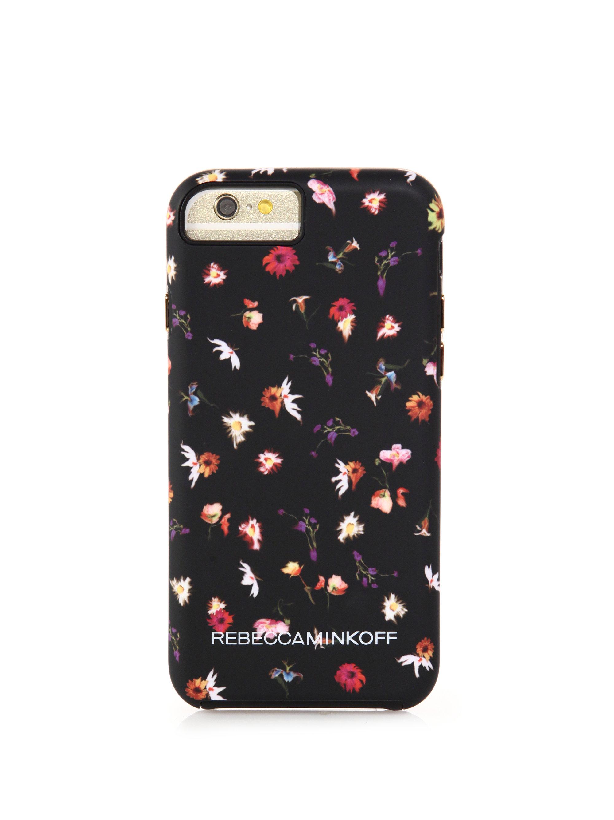Lyst Rebecca Minkoff Floral Print Iphone 6 Case