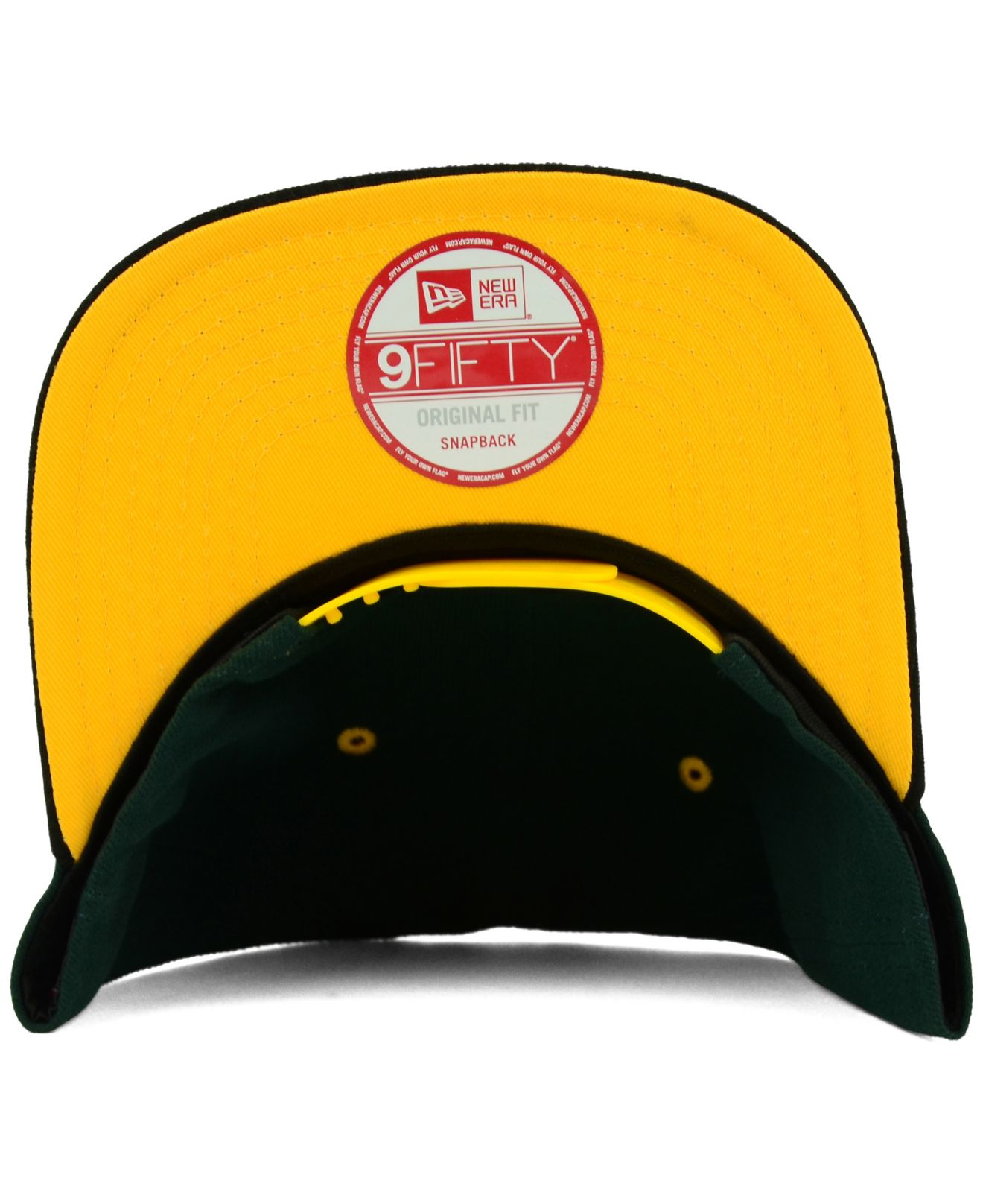 new style 34dc3 f9eb5 ... netherlands lyst ktz oakland athletics tone 9fifty snapback cap in  green for men b402f 25a47