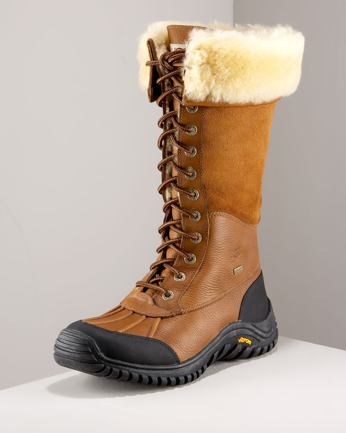 brown ugg adirondack boot