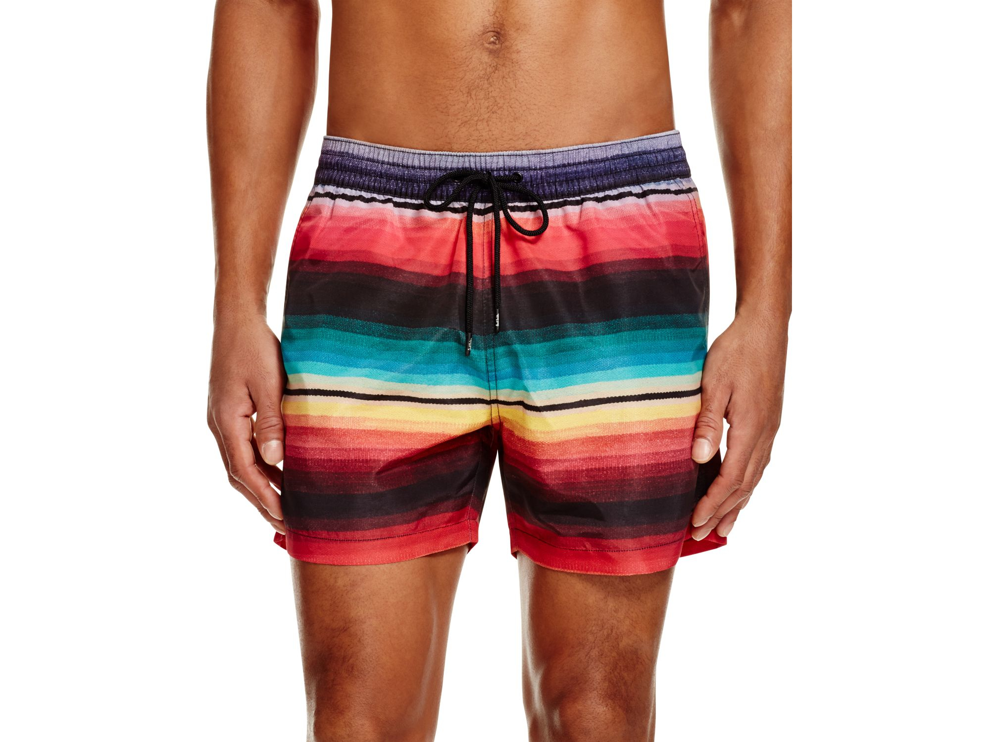 c05ee53815293 Paul Smith Stripe Classic Swim Short for Men - Lyst