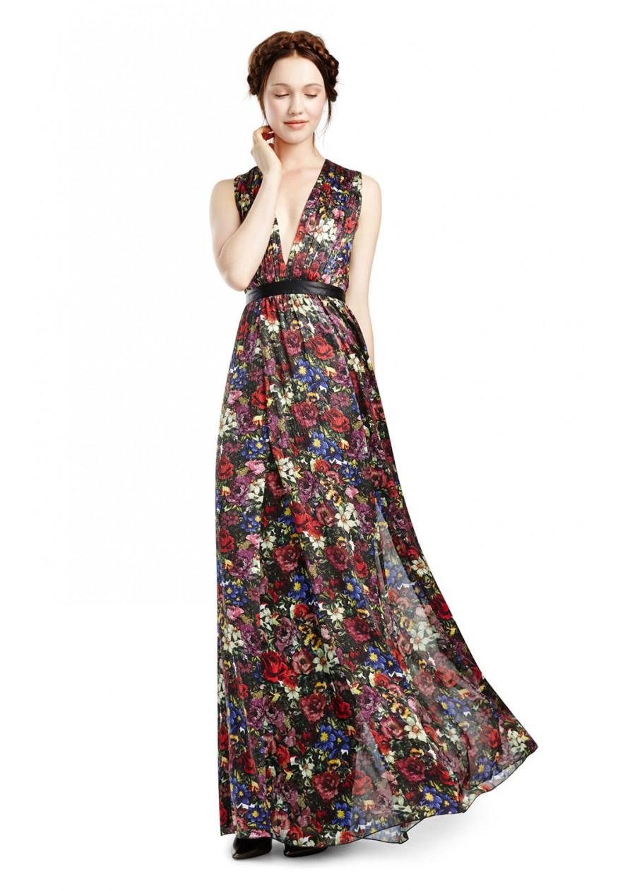 Alice Olivia Triss Maxi Dress Lyst
