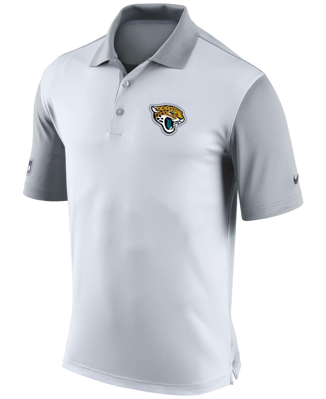Lyst   Nike Menu0027s Jacksonville Jaguars Preseason Polo In White For Men
