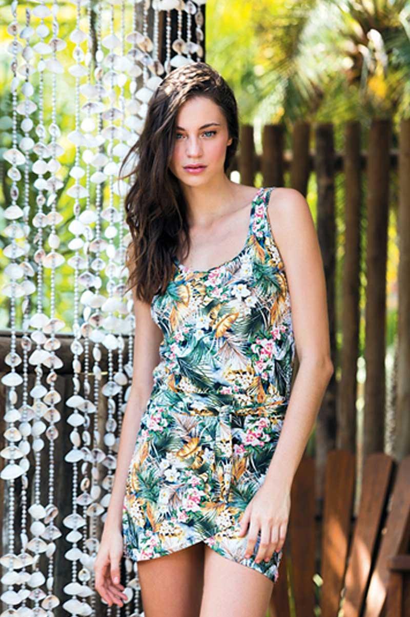 Cia Marítima 2015 Collection: Cia.marítima Tropicalia Tank Dress 378418840 In Yellow