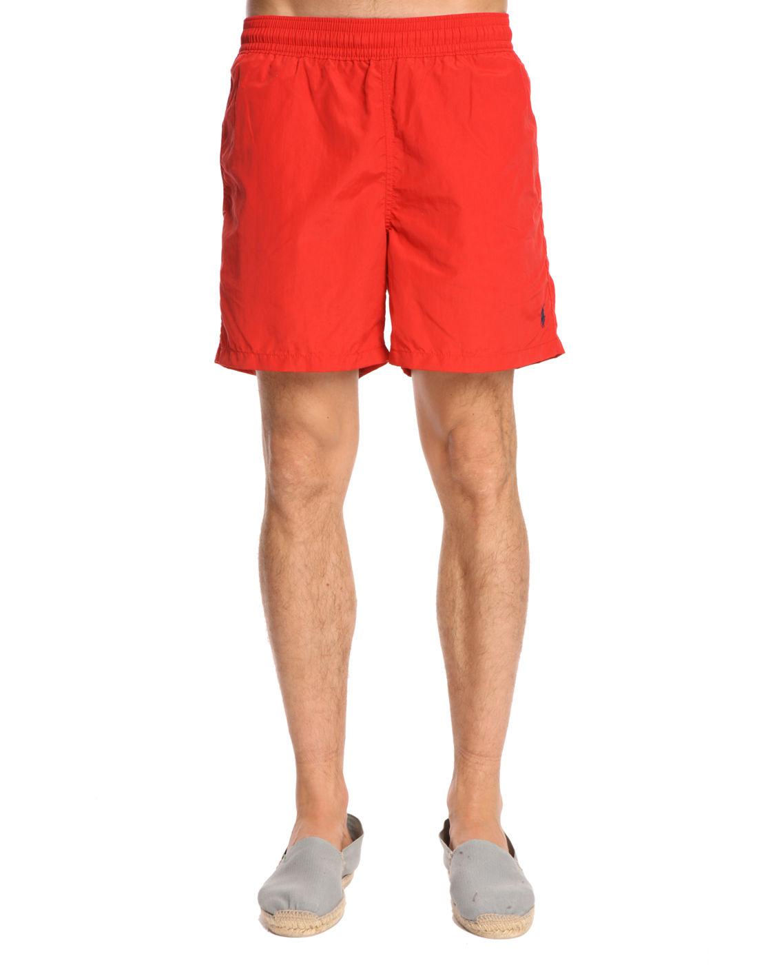 Red Polo Sweatpants Polo Ralph Lauren Hawaiian Red