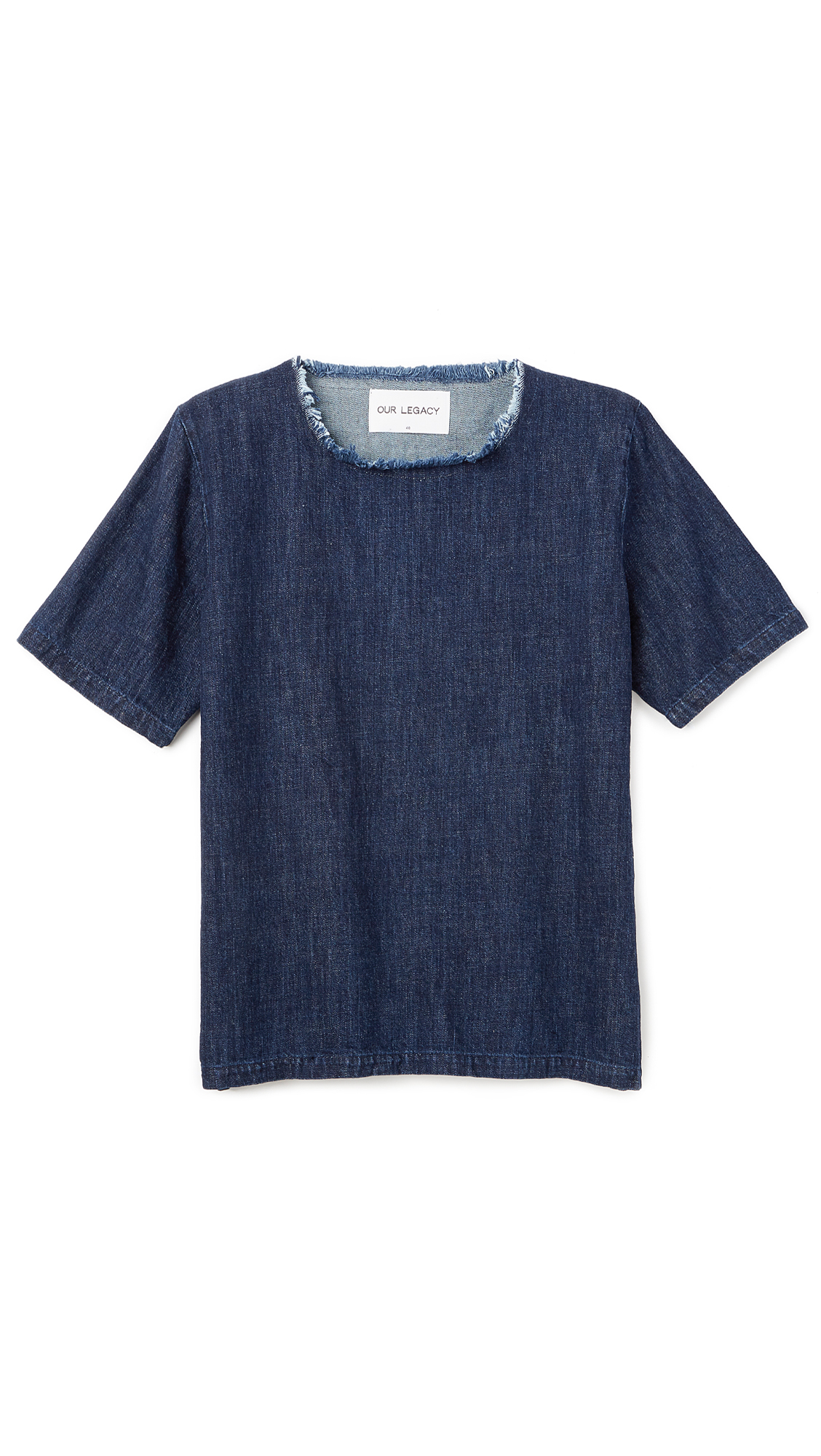 Lyst our legacy woven t shirt in blue for men Woven t shirt tags