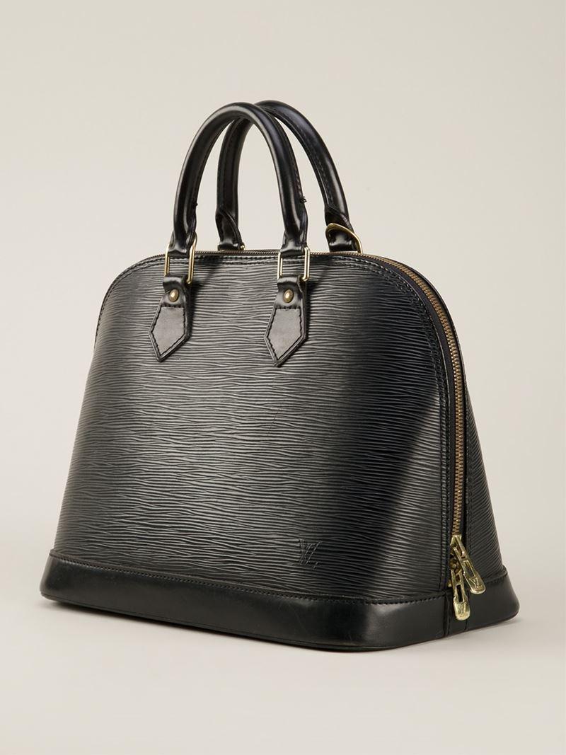 Lyst - Louis Vuitton  alma  Tote Bag in Black 701f37babc821