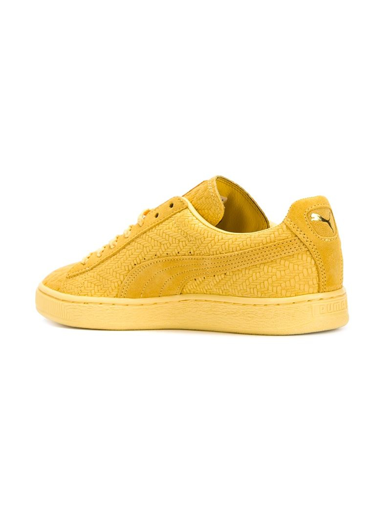 Lyst Puma Solange Match Sneakers In Yellow