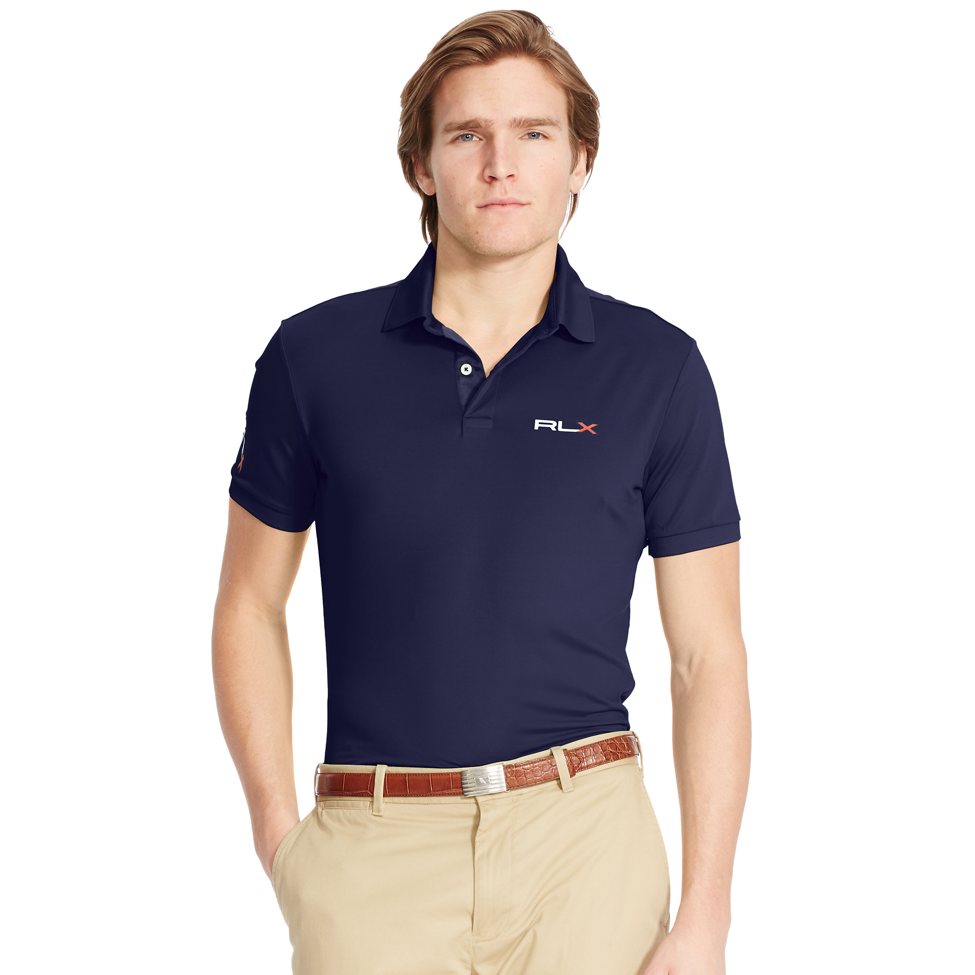 pink pony tailored fit lightweight polo in blue for men lyst. Black Bedroom Furniture Sets. Home Design Ideas