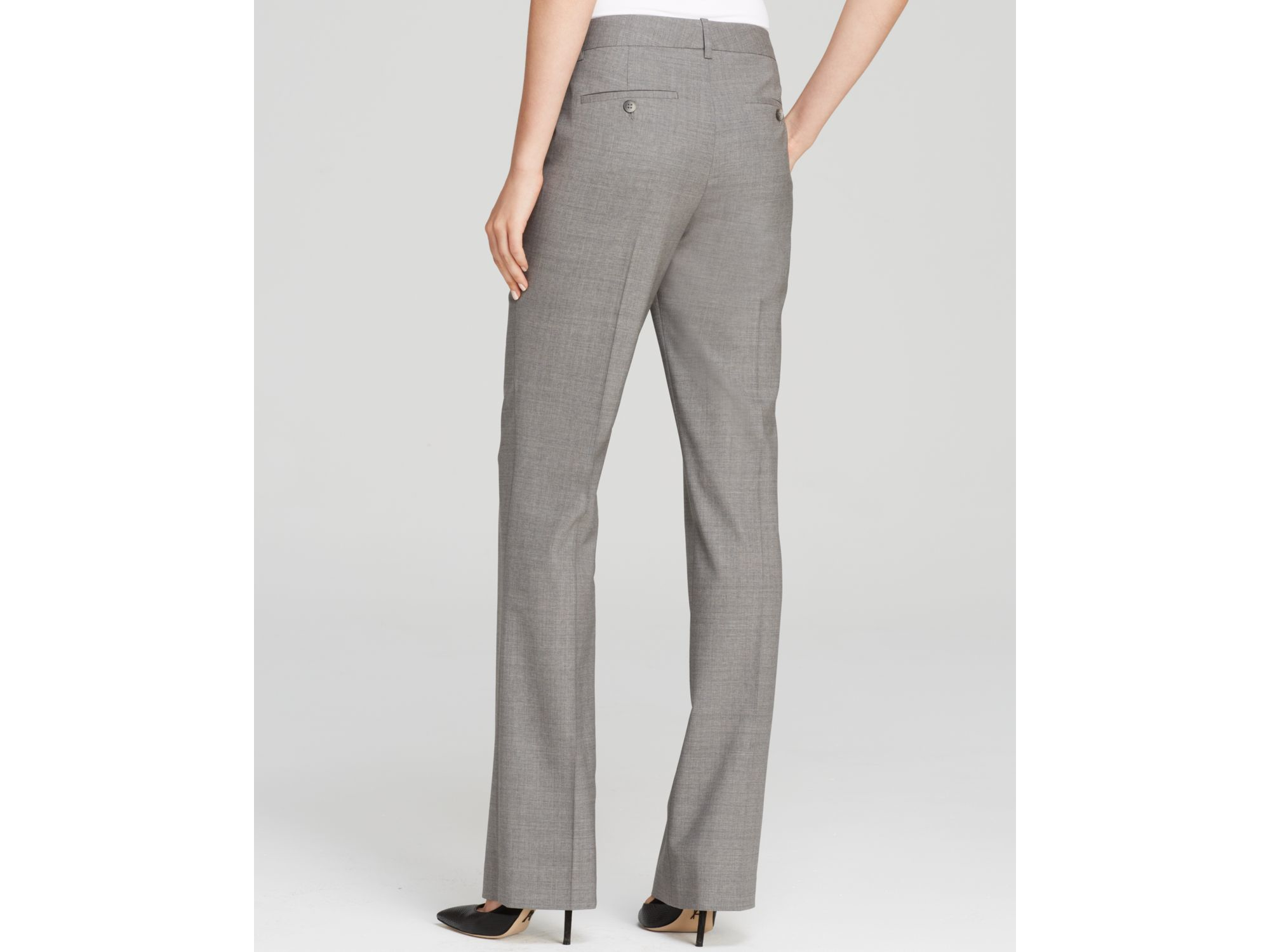 5a84f79adb Theory Pants - Custom Max 2 Edition in Gray - Lyst