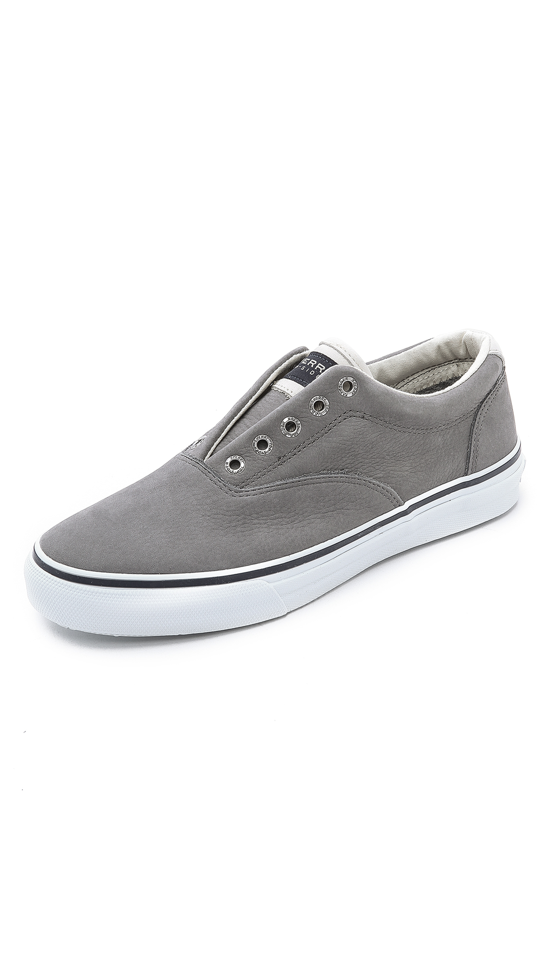 Mens Striper Ii CVO Washed Navy Trainers Sperry Top-Sider D59uA