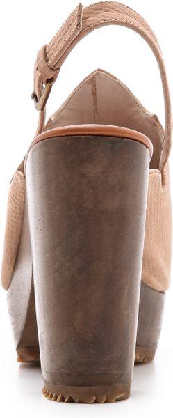 Rachel Comey Hitchhiker Slingback Sandals Desert Suede In