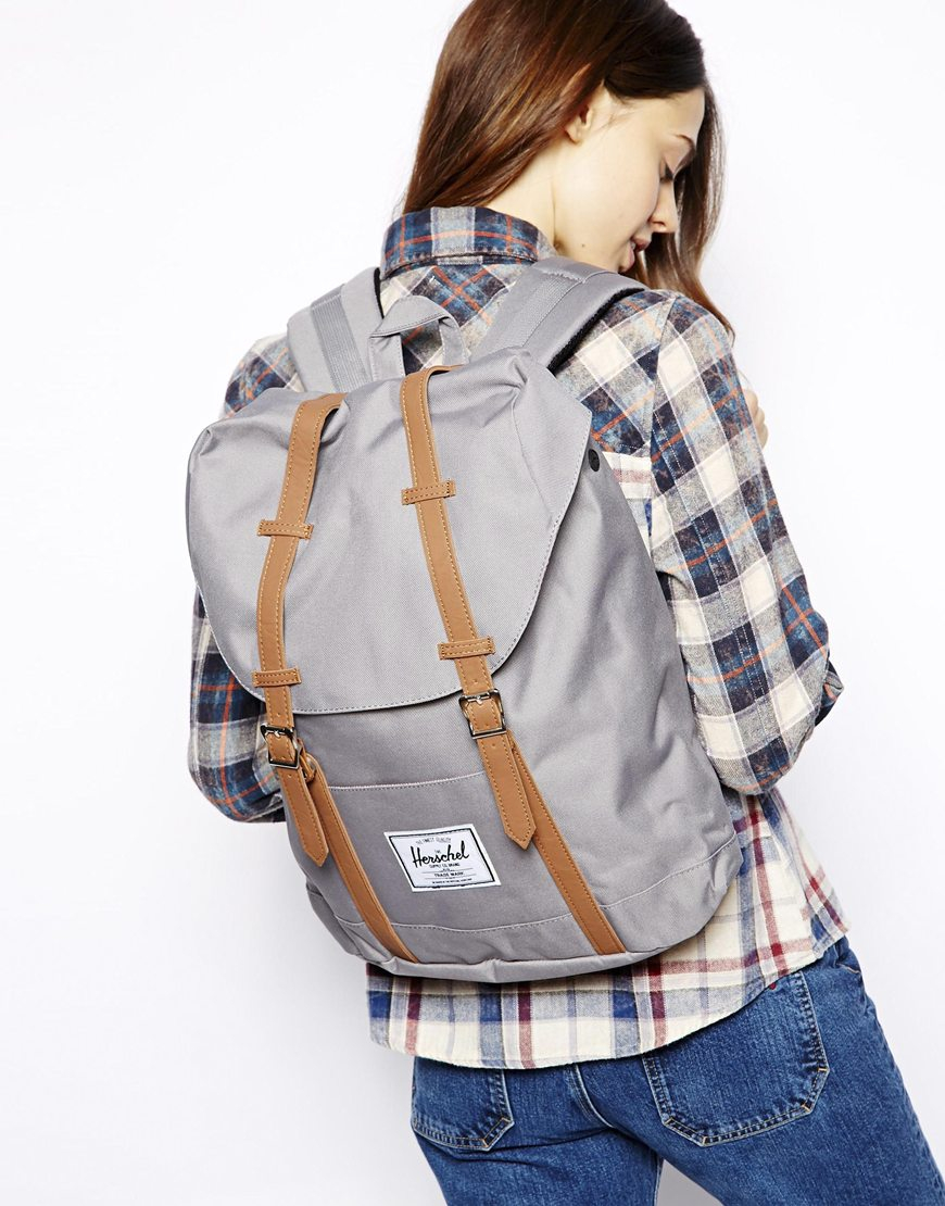 024c7fa4a97 Herschel Supply Co. Retreat Backpack in Gray - Lyst
