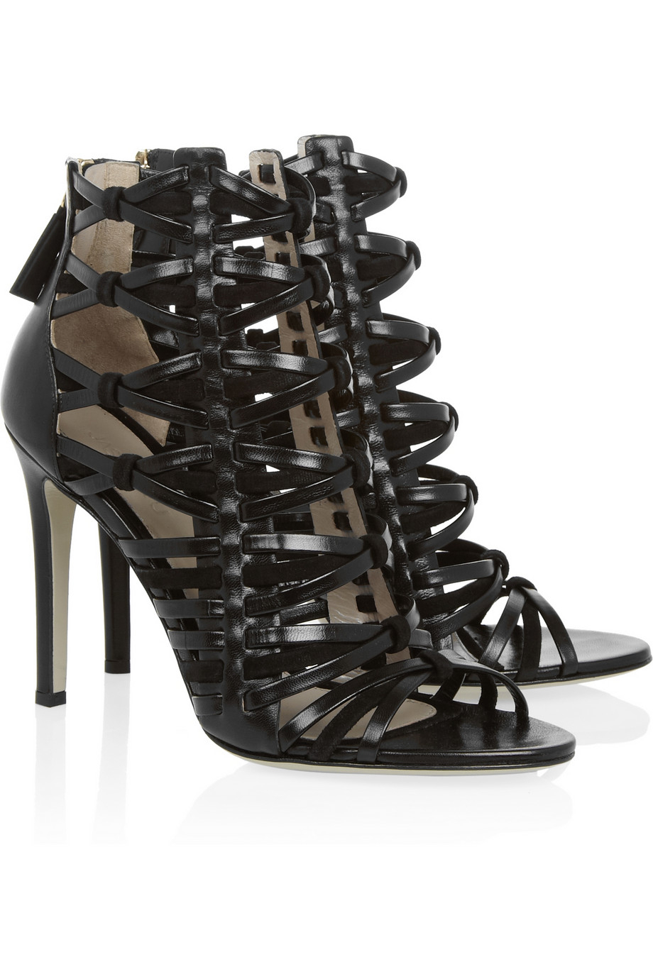 Jason Wu Leather Cage Sandals clearance cost 1inoUQ