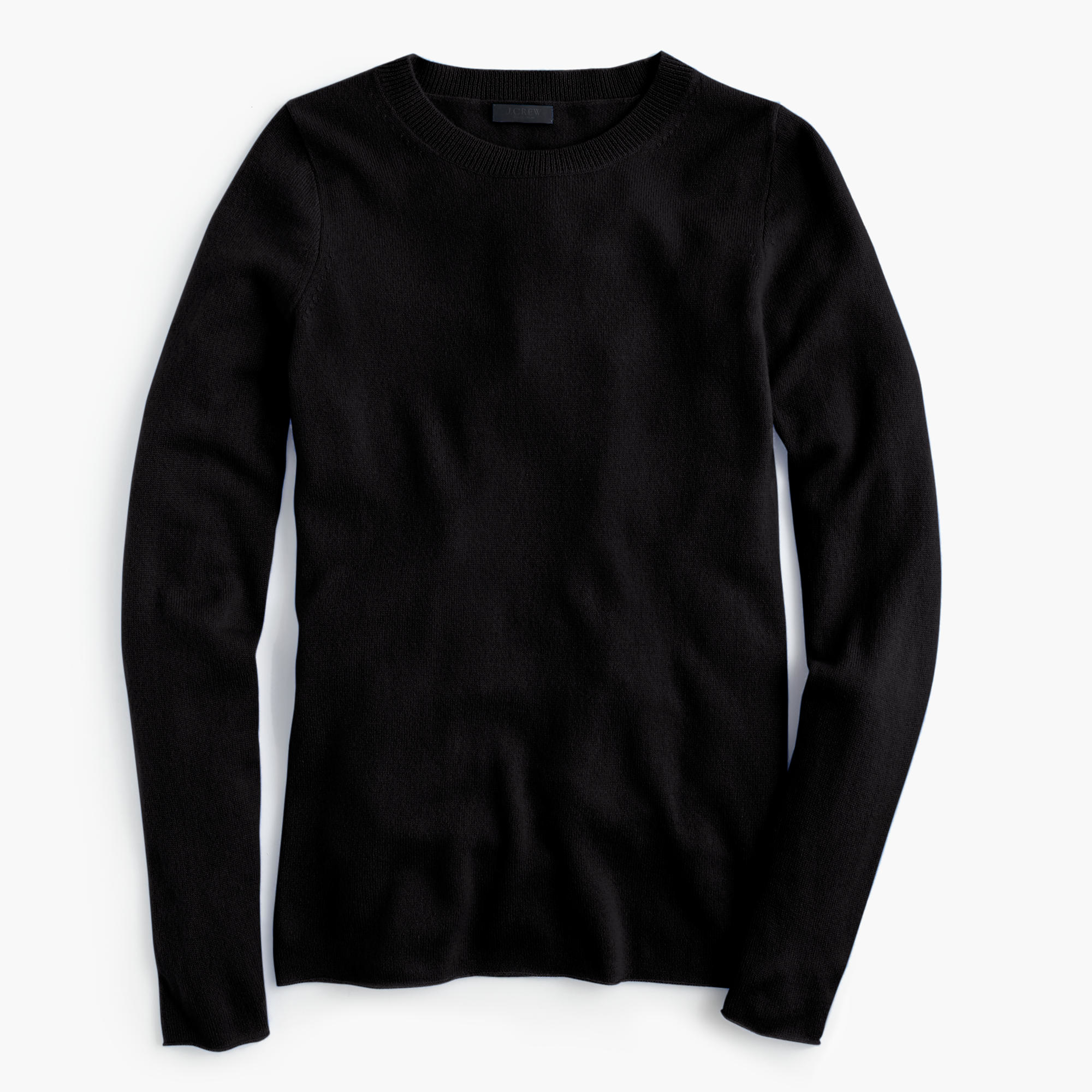j crew black collection cashmere long sleeve t shirt lyst