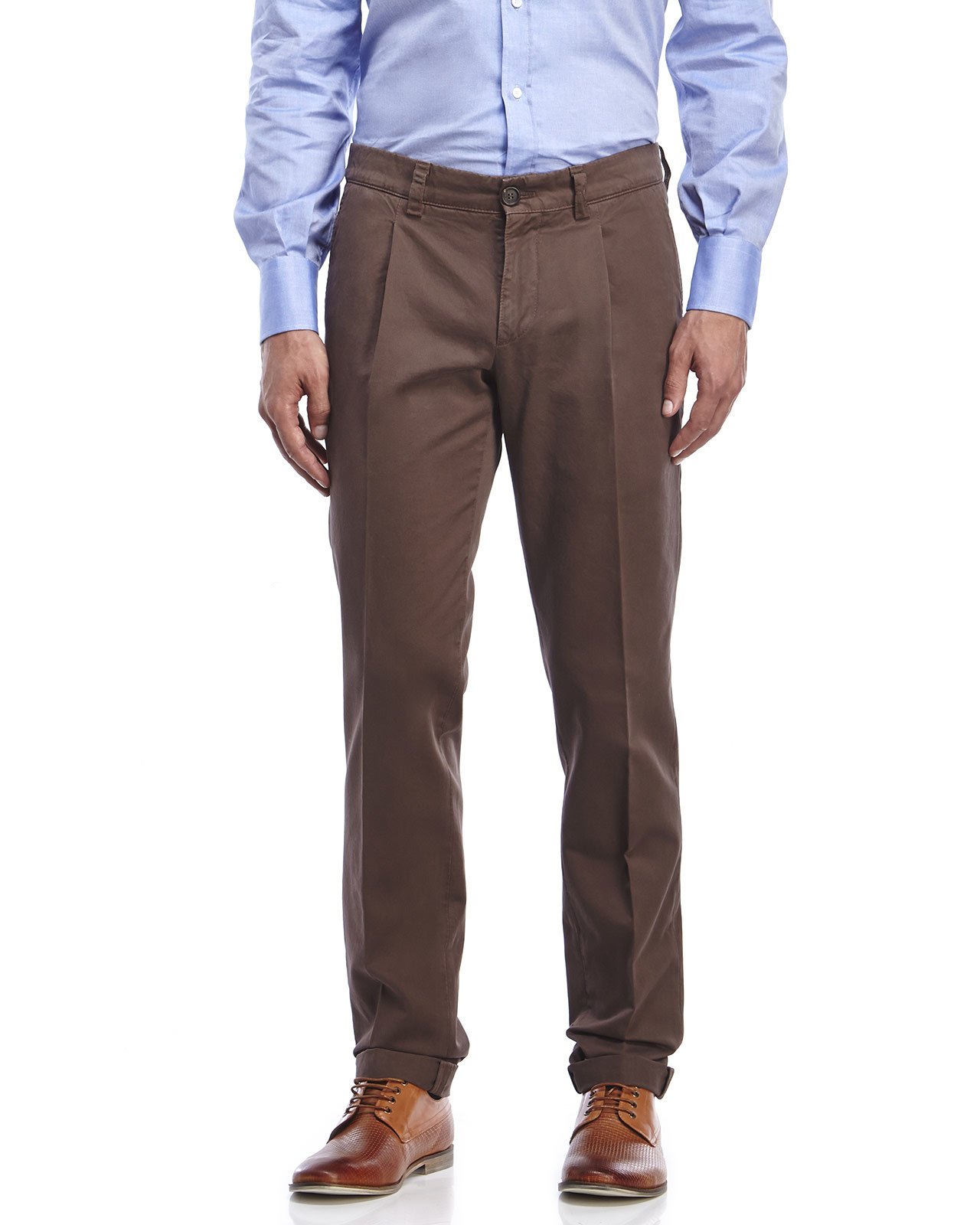 Trousers with pleats Brunello Cucinelli r8MNH