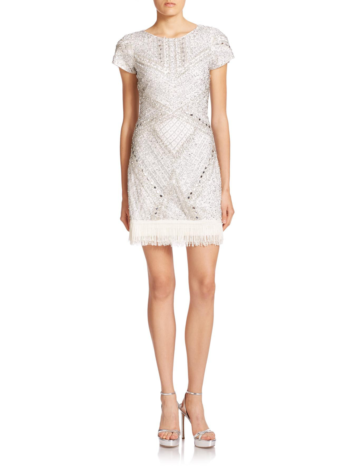 065a3522d227 Gallery. Previously sold at: Saks Fifth Avenue · Women's White Cocktail  Dresses
