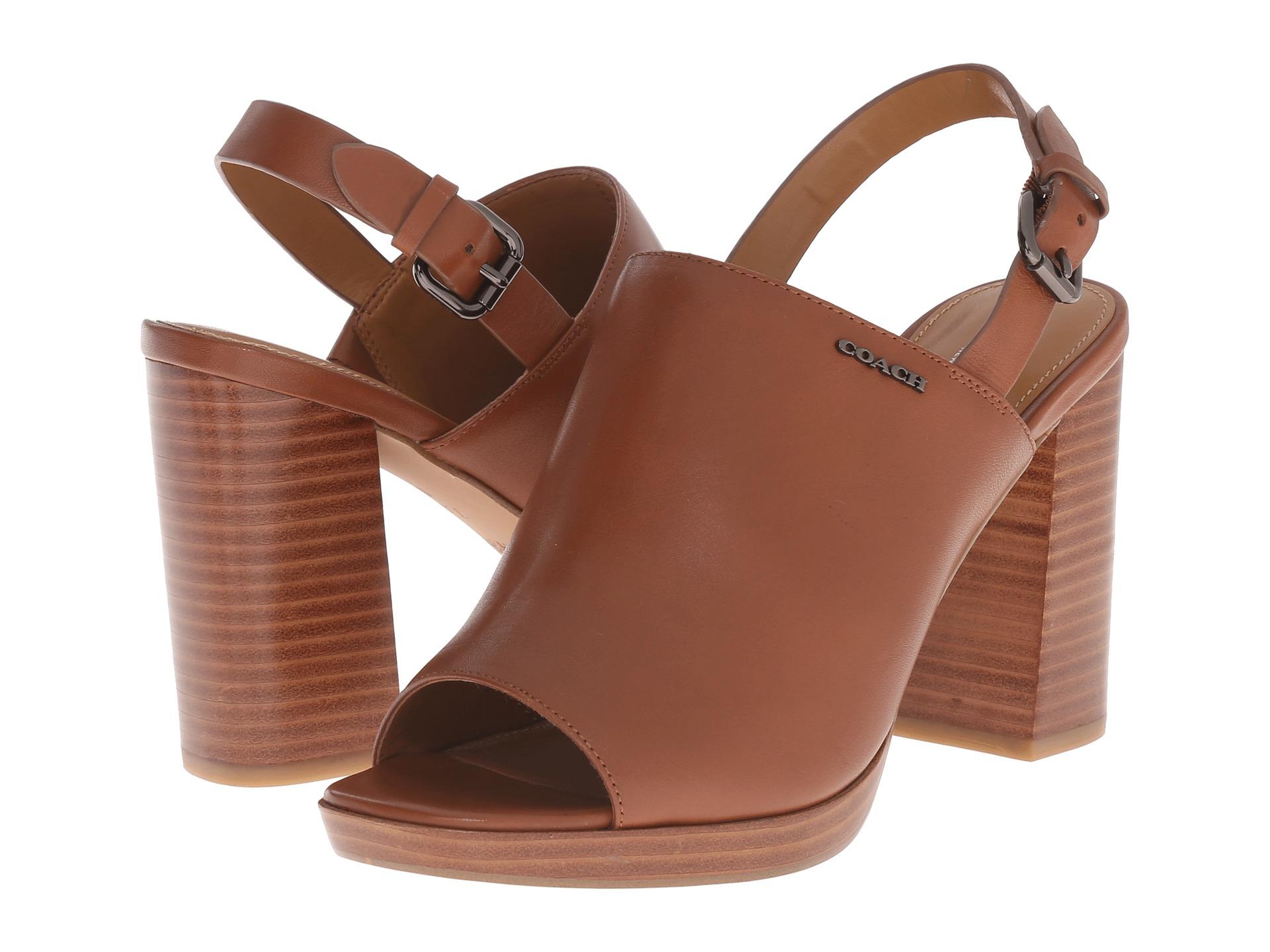 Womens Shoes COACH Brady Saddle Semi Matte Calf