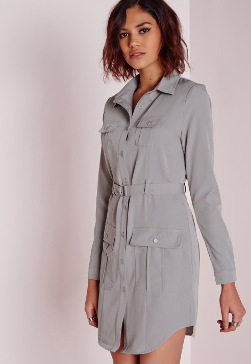finest selection limited quantity pick up Grey Shirt Dress - Dress Foto and Picture
