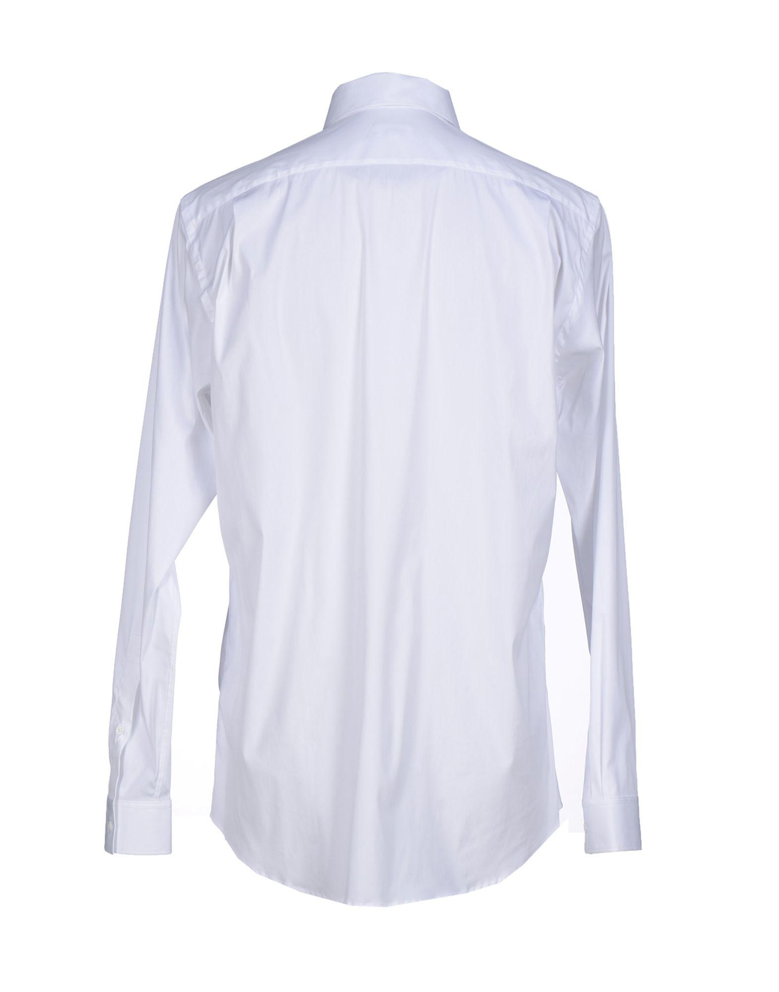 Lyst jil sander shirt in white for men for Jil sander mens shirt
