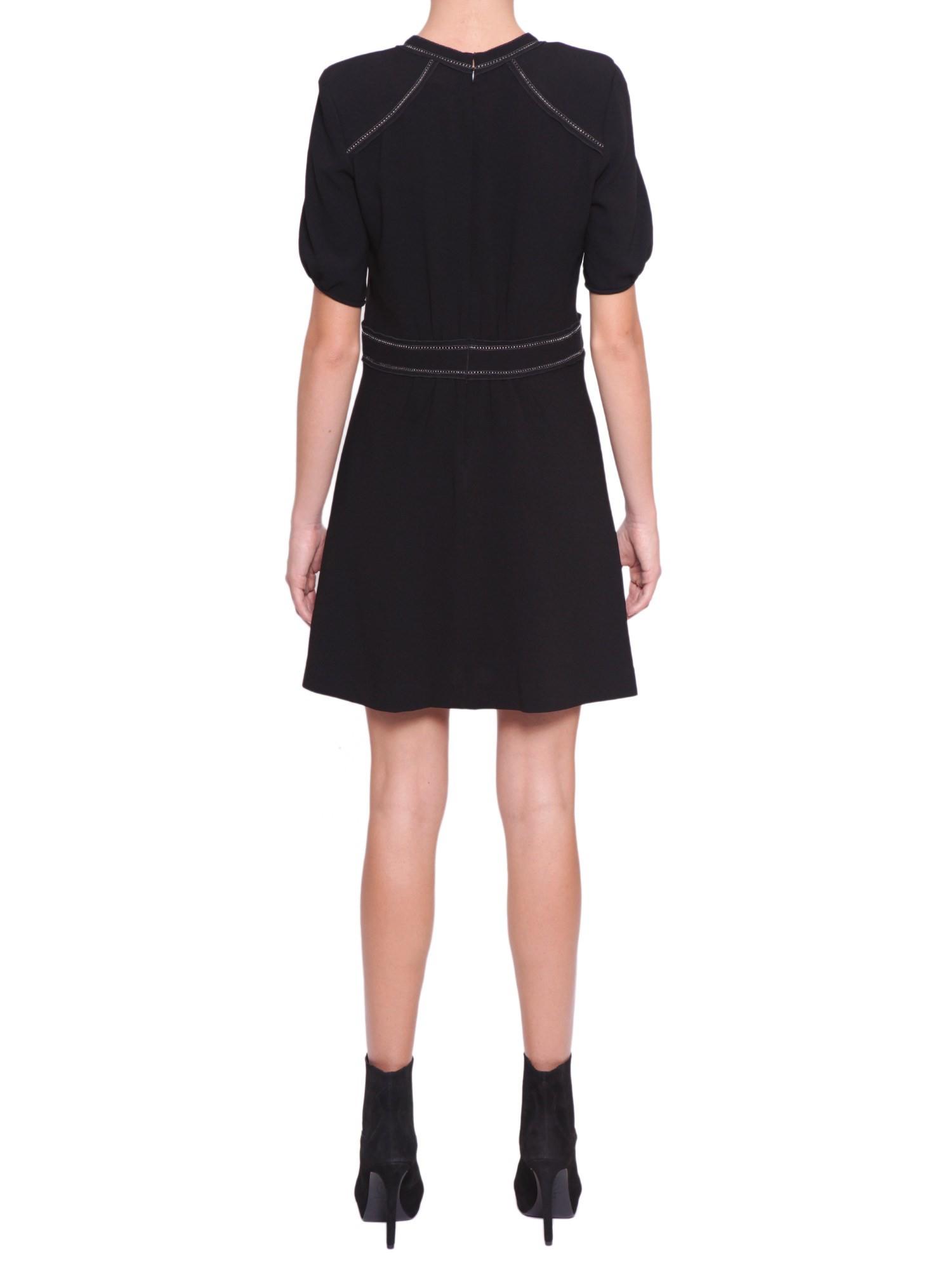 isabel marant wana dress in black nero lyst