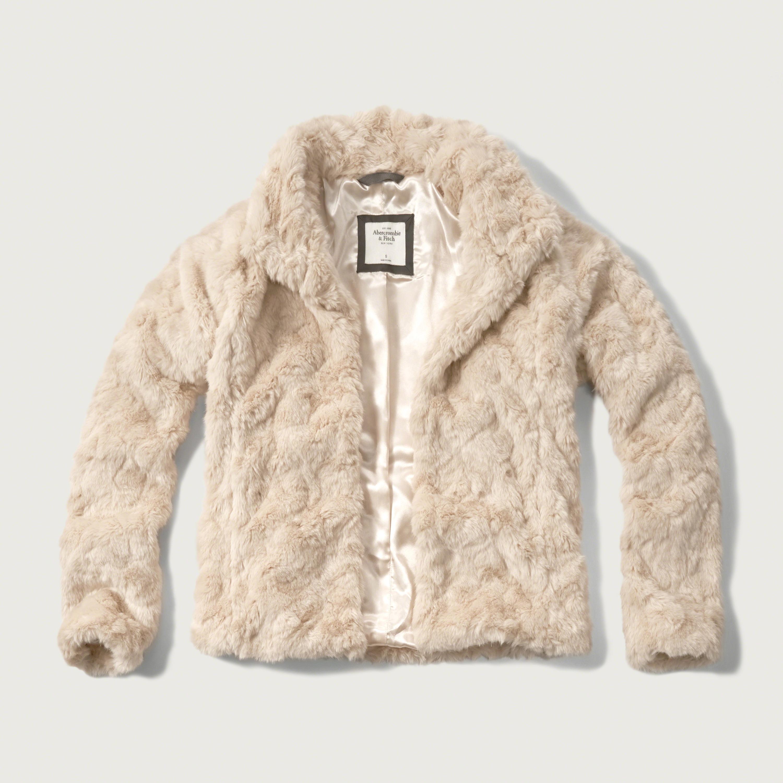 Faux Fur Moto Jacket