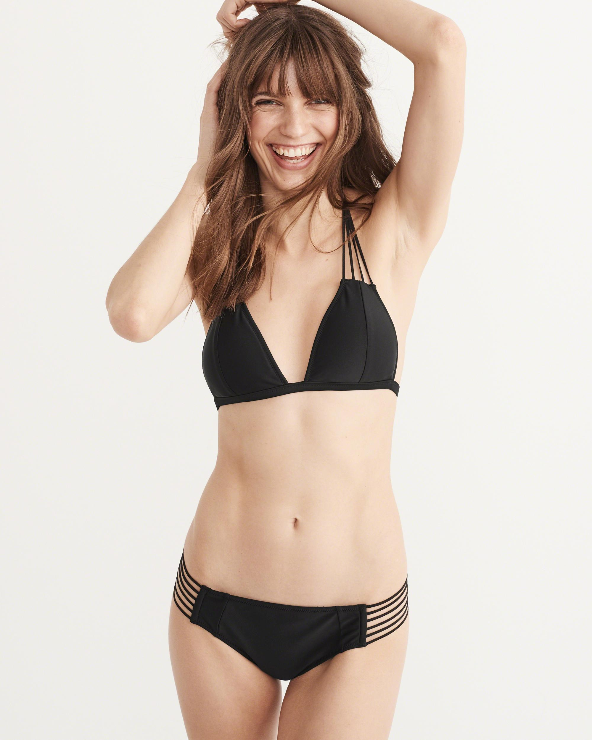 1216055682077 Lyst - Abercrombie   Fitch Strappy Triangle Top Strappy Bikini ...