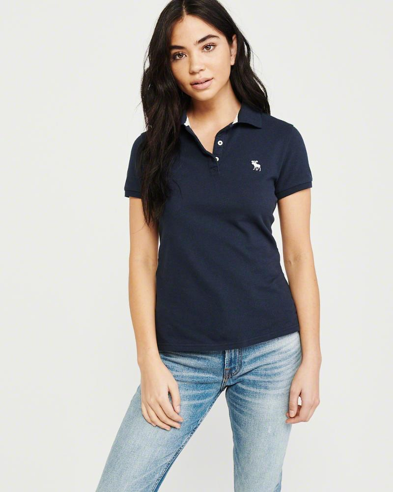 899c726a Lyst - Abercrombie & Fitch A&f Classic Polo in Blue