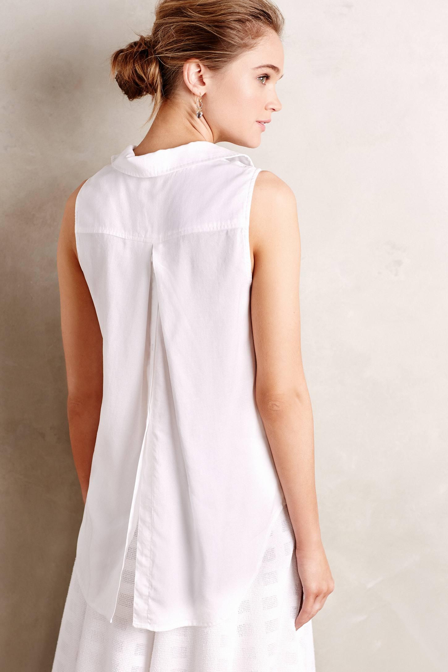 White Blouse Cotton