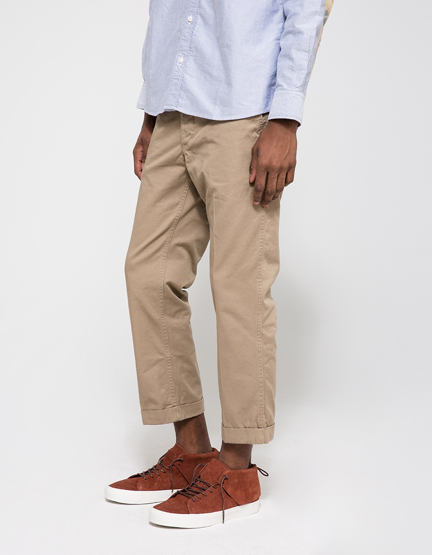 cropped chinos - Green Visvim AkIz9