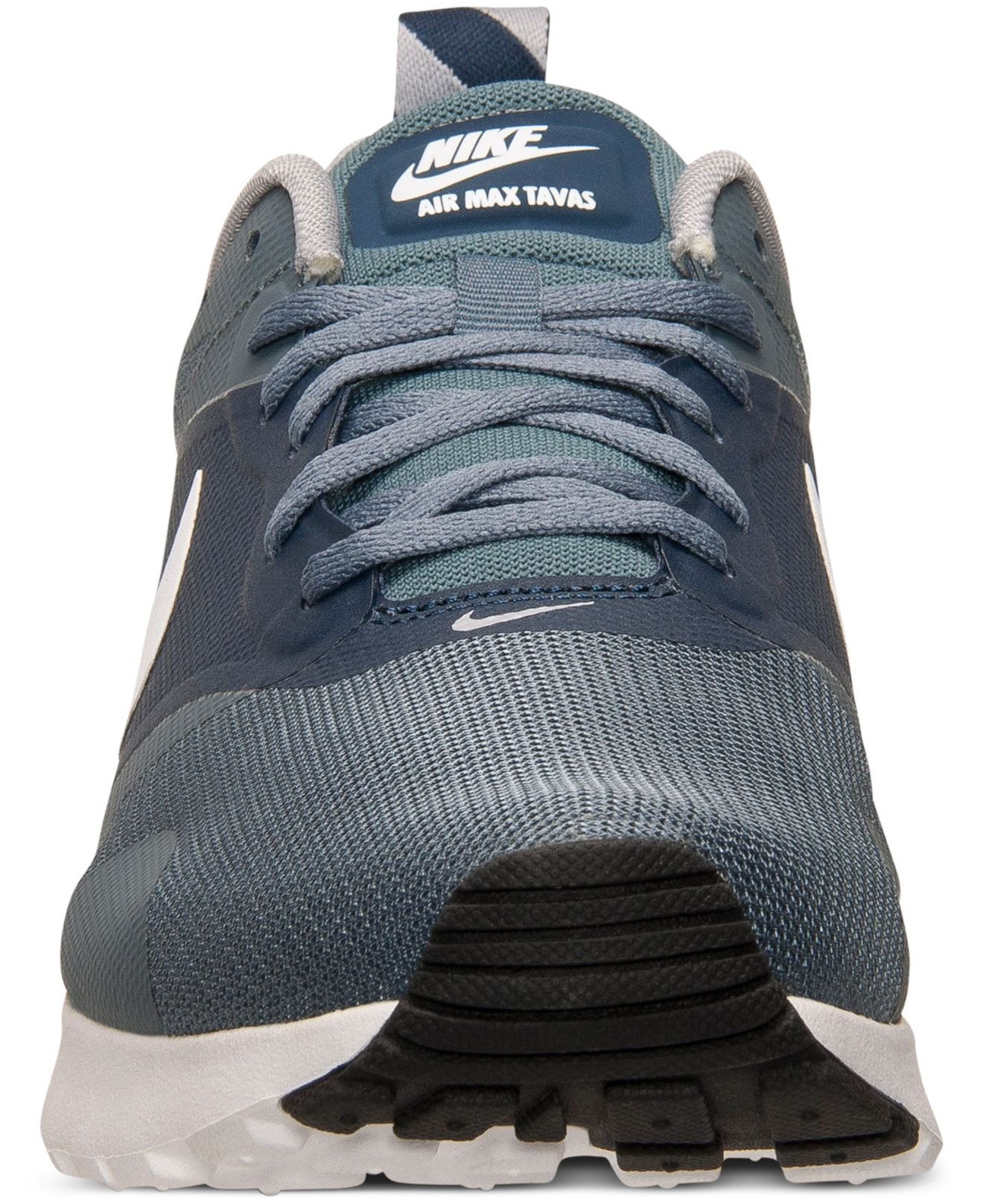 finest selection 763f7 b02b5 Nike Men s Air Max Tavas Running Sneakers From Finish Line in Gray ...