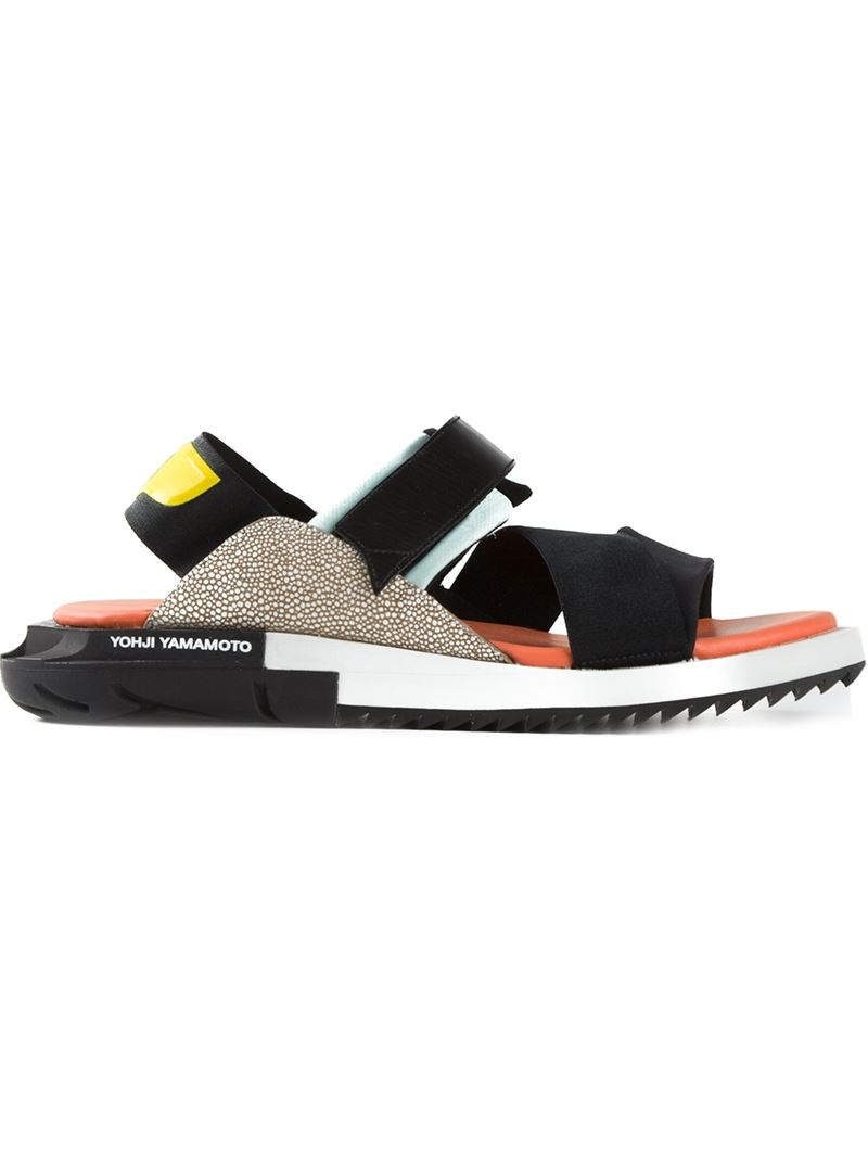 5390f5c21 Lyst - Y-3  Kaohe  Sandals in Black for Men