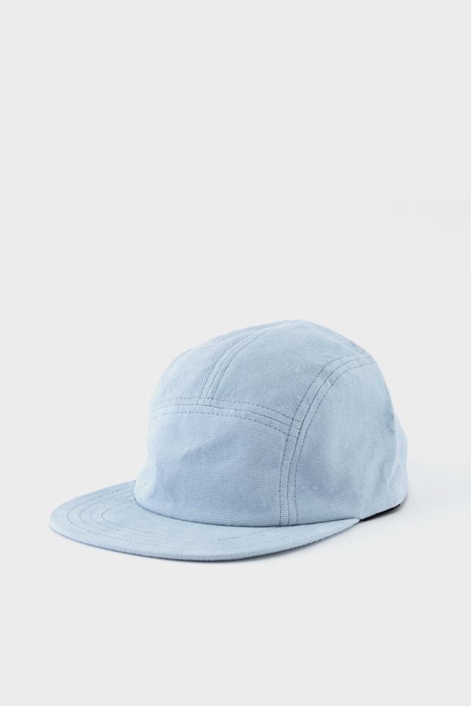 2326bbbf915 Les Basics Le Peak Cap Sky Corduroy in Blue for Men - Lyst