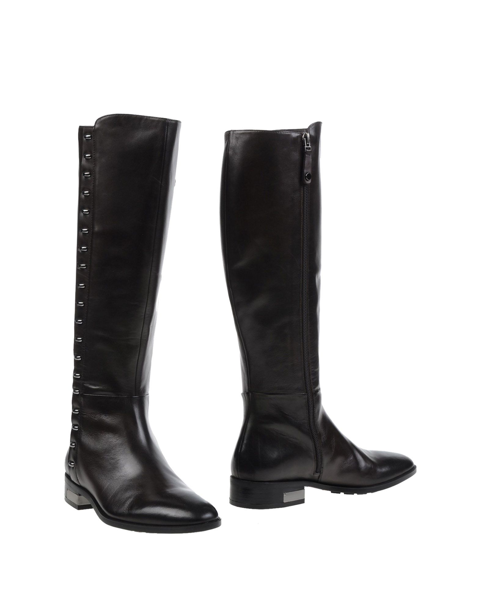Elvio Zanon Boots In Brown Lyst