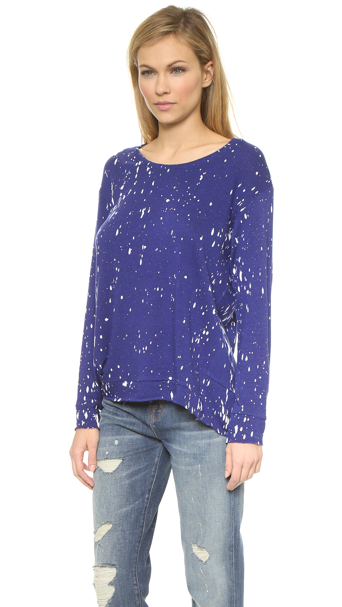 Generation love Wendy Oversized Paint Sweater